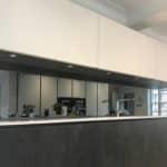 MTM miroiterie menuiserie aluminium serrurerie Toulouse crédence de cuisine en verre